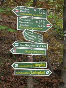 1. Wanderung BI ProKernberge _Wegweiser