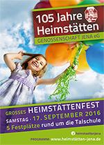 Plakat Heimstättenfest 2016